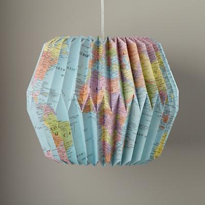 Looseleaf Pendant Shade (World)
