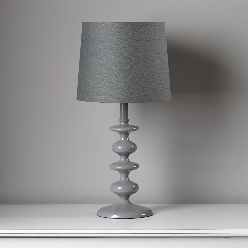 Checkmate Table Lamp Base (Grey)
