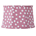 Pink/White Spots and Dots Table Shade