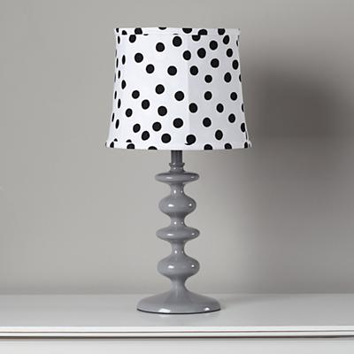 Spots and Dots Table Shade (Black/White)