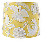 Yellow Floral Corsage Table Shade