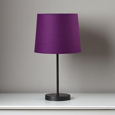 Light Years Purple Table Shade and Graphite Base