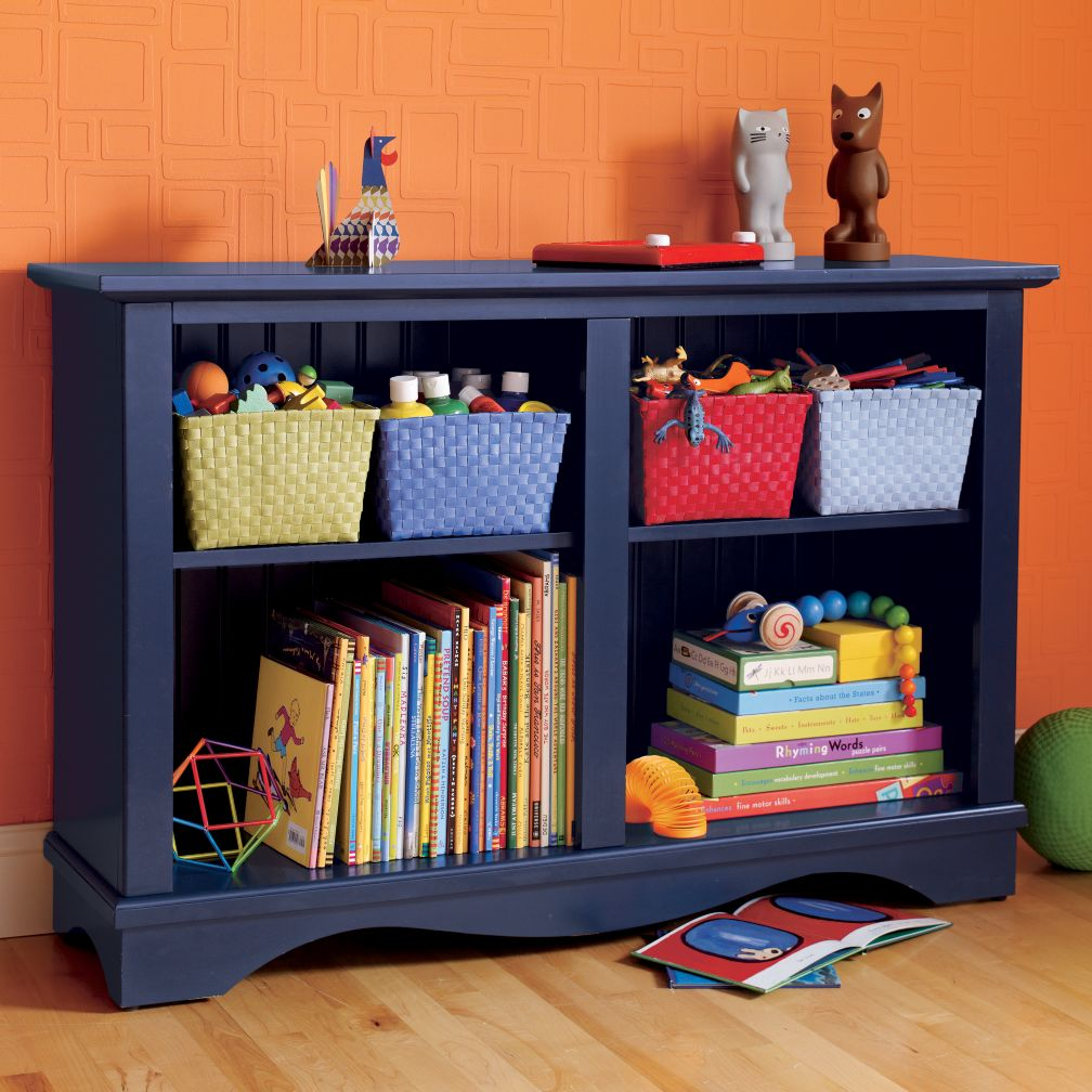 Low Rider Bookcase (Midnight Blue)