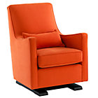 Orange Upholstered Luca Glider
