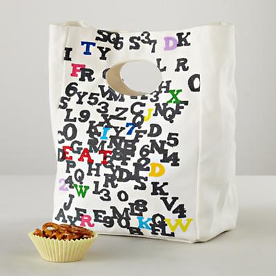 Carried Away ABC Lunch Bag