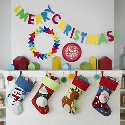 Holiday Cheer Stocking (Santa)
