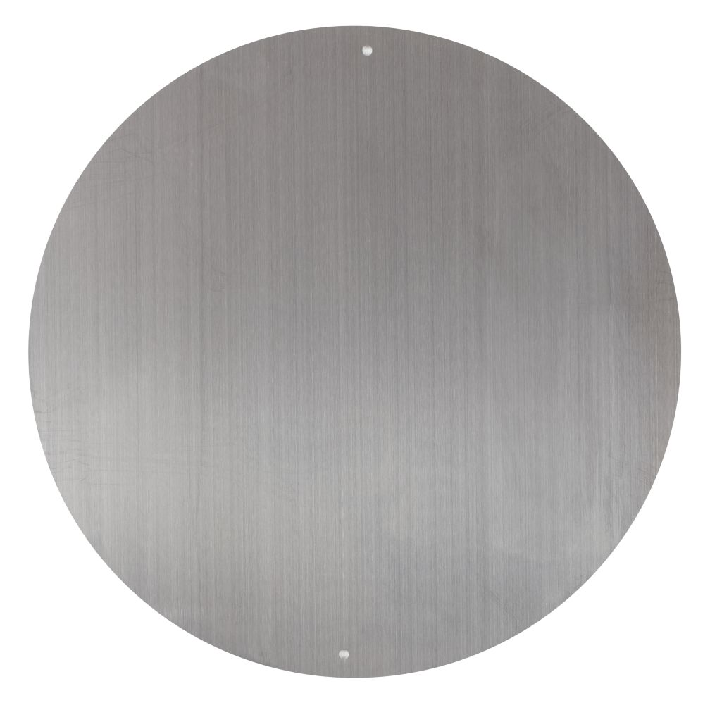 12&quot; Circle Magnet Board (Silver)