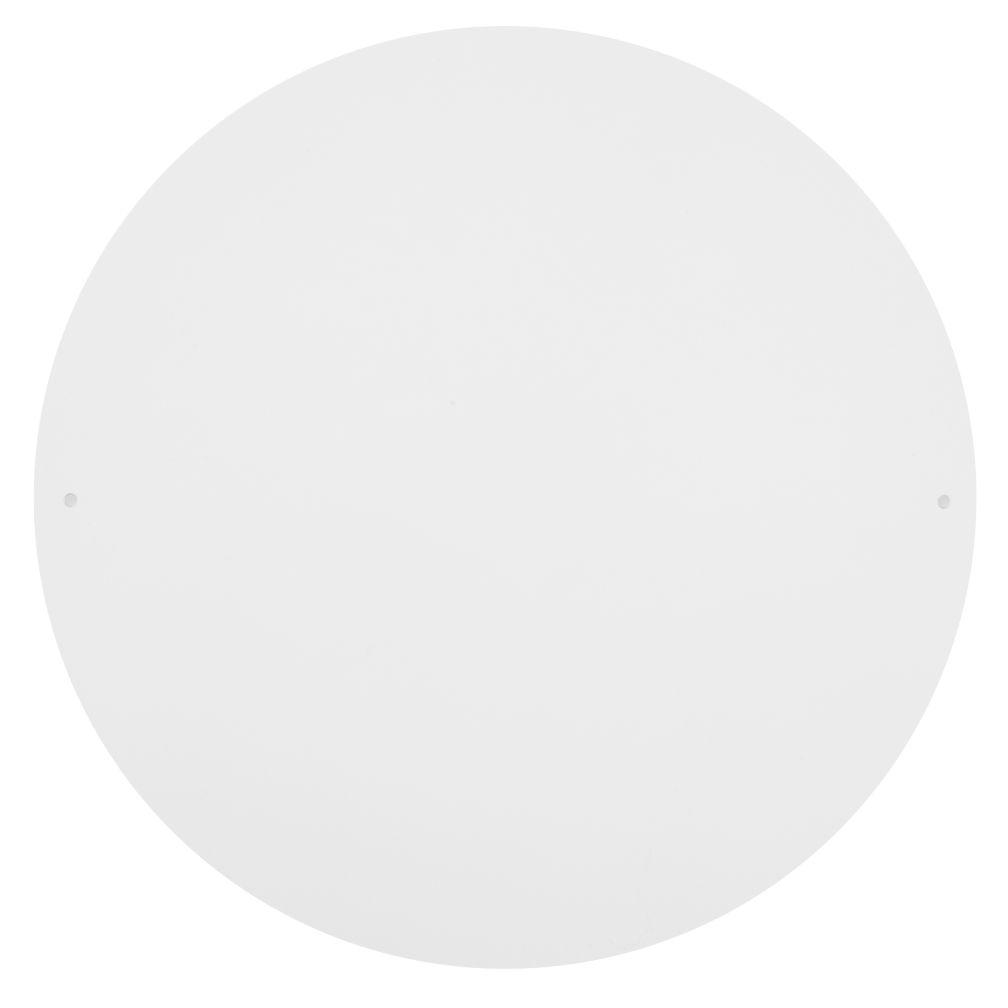 "12"" Circle Magnet Board (White)"