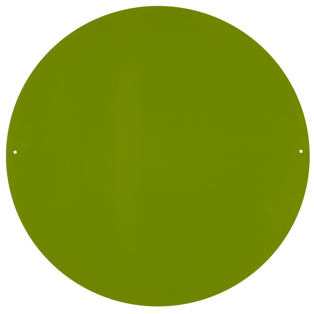 "16"" Perfect Circle Magnet Board (Green)"