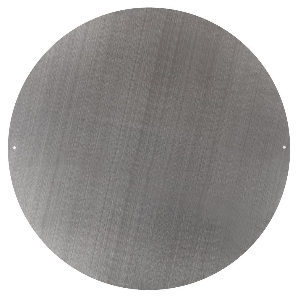 "16"" Silver Circle Magnet Board"