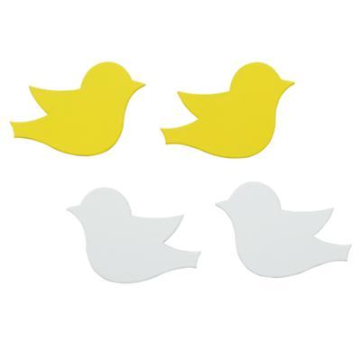 Four Little Bird Magnets (Set of 4)