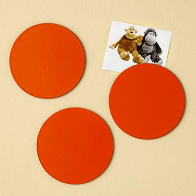 Orange Seeing Spots Magnets (Set of 3)