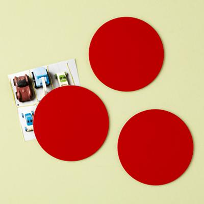 Red Seeing Spots Magnets (Set of 3)