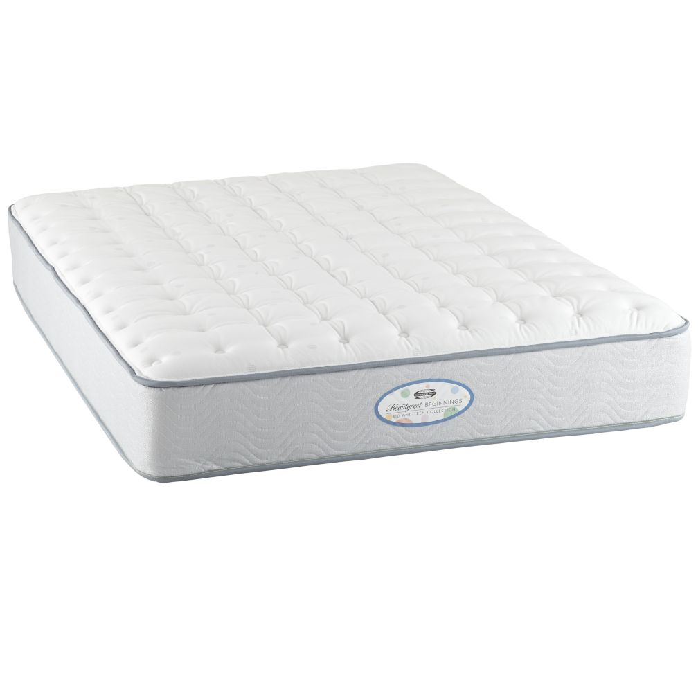 Full Simmons Beautyrest Beginnings Plush Mattress