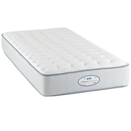twin simmons beautyrest plush mattress the land of nod