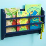 Bin There Done That Wall Book Bin (Midnight Blue)