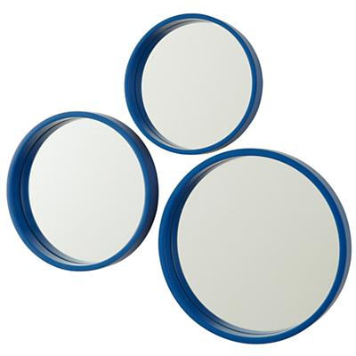 Ahoy There Blue Mirrors (Set of 3)