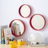 Ahoy There Mirrors (Red, Set of 3)