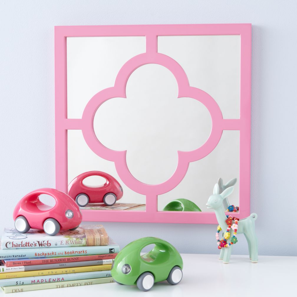 My Lucky Four-Leaf Mirror (Pink)