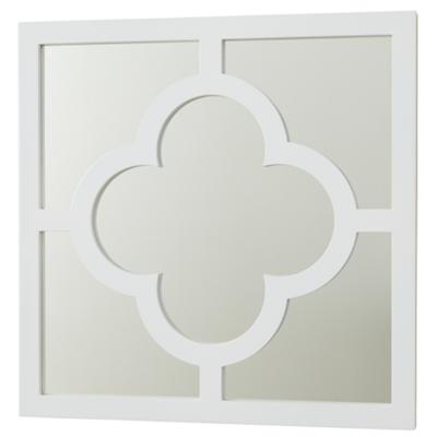 My Lucky Four Leaf Mirror (White)