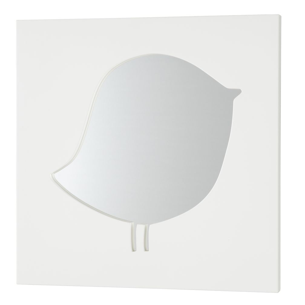 Cut It Out Mirror (White Bird)