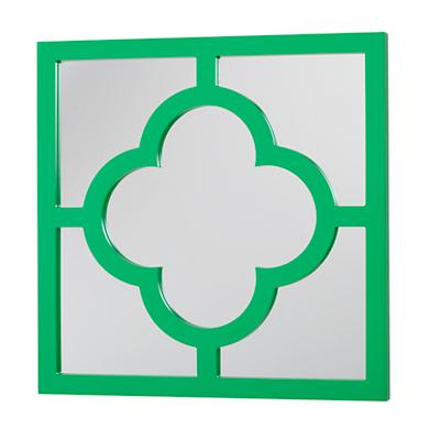 My Lucky Four-Leaf Mirror (Green)
