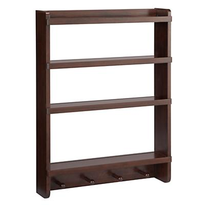 Straight & Narrow Wall Rack (Espresso)
