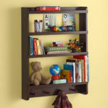 Straight and Narrow Wall Rack (Espresso)