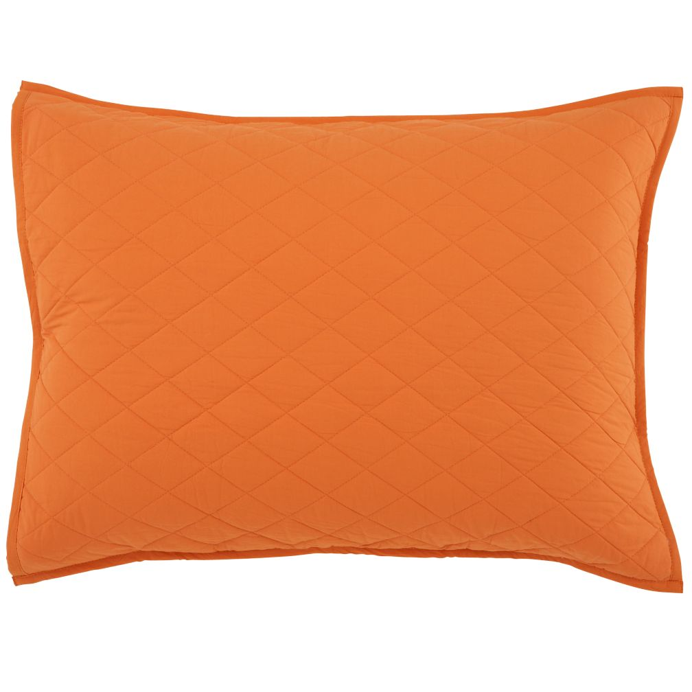 Orange Moving Blanket Sham