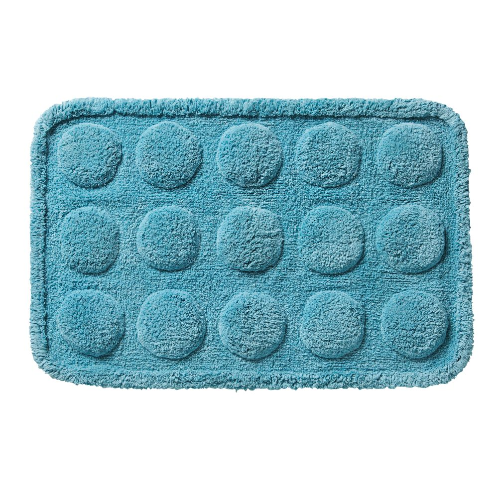 Muffin Bath Mat (Blue)