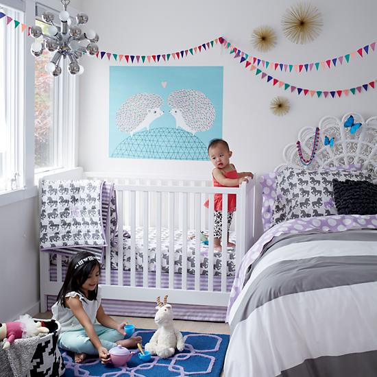 kids lighting retro multi bulb ceiling light the land of nod. Black Bedroom Furniture Sets. Home Design Ideas