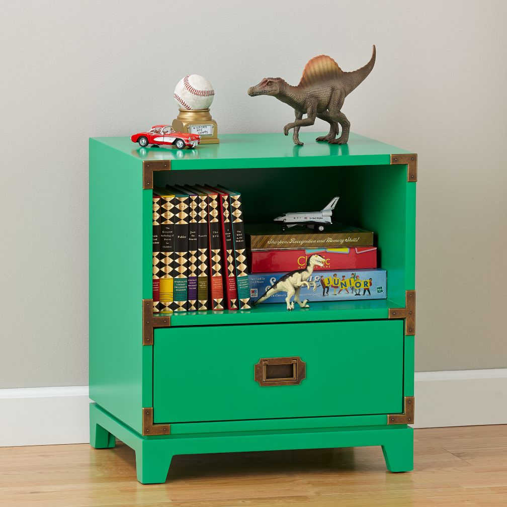 Campaign Nightstand (Kelly Green)