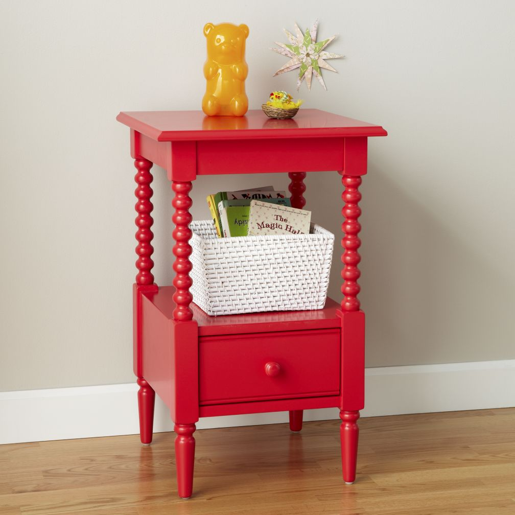 Jenny Lind Nightstand (Raspberry)