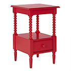Raspberry Jenny Lind Nightstand