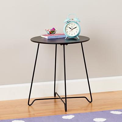 Streamline Metal Nightstand (Black)