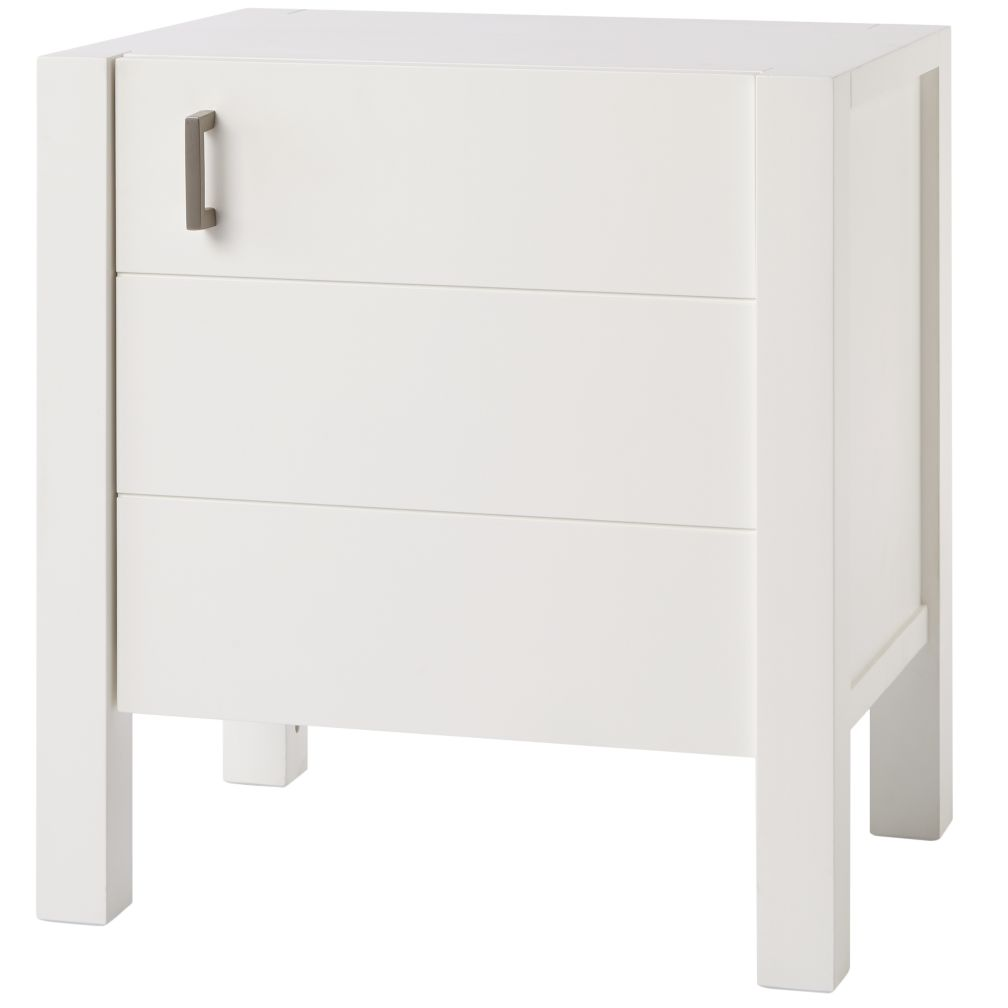White Uptown Nightstand
