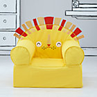 Yellow Lion Nod Chair Cover