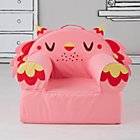 Pink Owl Nod Chair(Includes Cover and Insert)