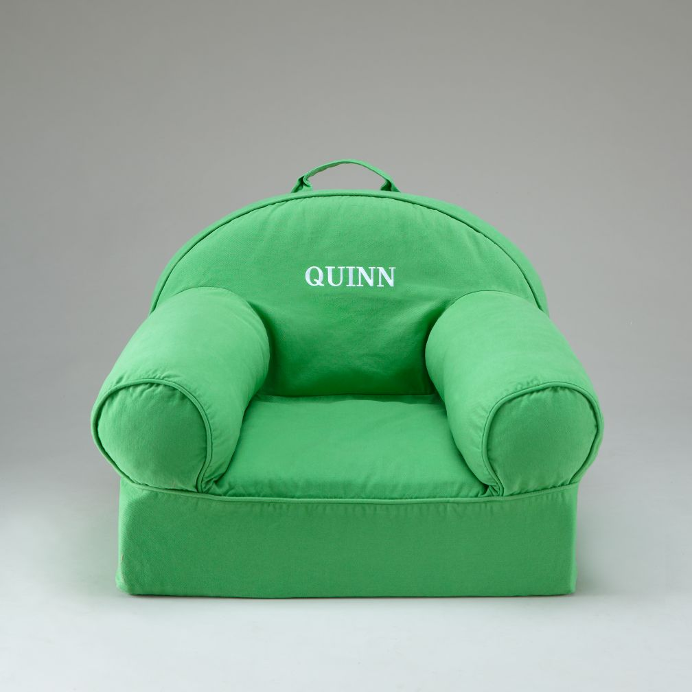 Green Personalized Nod Chair Cover
