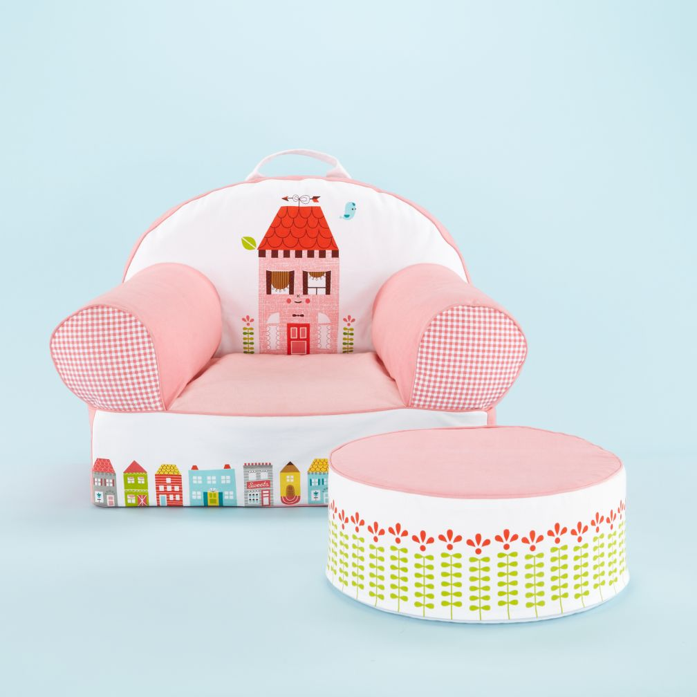 Little House Nod Chair and Ottoman
