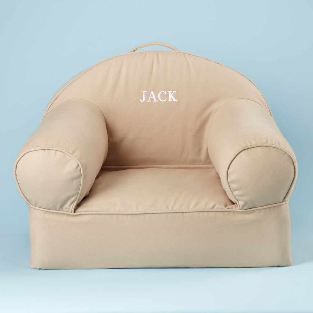 Khaki Personalized Nod Chair