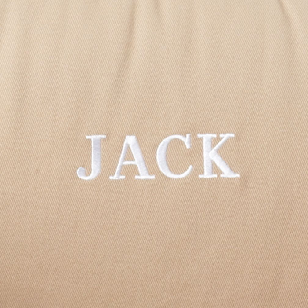 Khaki Personalized Nod Chair Cover