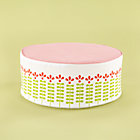 Little House Ottoman Includes Cover and Insert