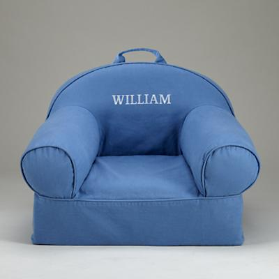 Blue Personalized Nod Chair