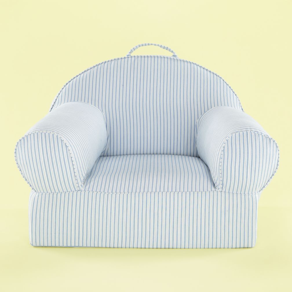 Ticking Nod Chair Cover (Blue)