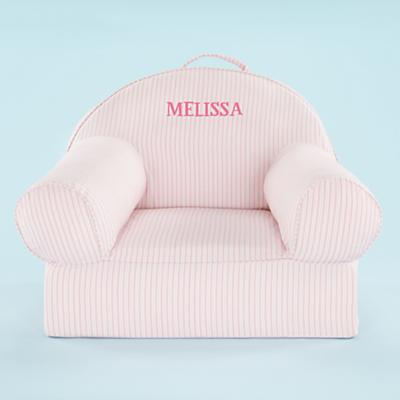 Personalized Ticking Nod Chair (Pink)