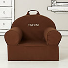 Personalized Brown Nod Chair CoverFree embroidered personalization