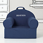 Dk. Blue Personalized Nod Chair CoverFree embroidered personalization