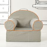Executive Nod Chair (Grey Gingham)