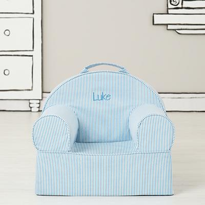 Entry Level Personalized Nod Chair (Blue Stripe)